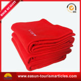 中国の航空会社のための静かに安いクイーンサイズのフランネルの羊毛毛布