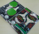 Jeu de raquette de ping-pong - Meilleur professionnel Raquette de ping pong Kit avec caoutchouc haute performance