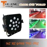 Disco-Stadium, das batteriebetriebenen Radioapparat LED flachen NENNWERT beleuchtet