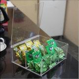 Rectángulo de acrílico respetuoso del medio ambiente del bolso de té hecho en China