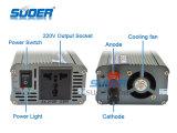 C.C chaud 24V de la vente 500W de Suoer à l'inverseur de pouvoir à C.A. 220V (SAA-500B)