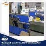 Angemessene hohe neue Entwurfs-Baumwollputzlappen-Maschine für Plastikstock
