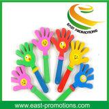 Valvola incoraggiante di plastica della mano di Promo per uso di sport del partito