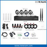 4CH Systeem van de Camera van de Nok van de Veiligheid van WiFi van het Huis van 1080P het Mini voor OpenluchtGebruik