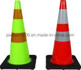 Cone de tráfego de mutilador de PVC 700mm de melhor qualidade e melhor preço