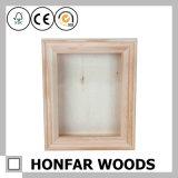Деревянная рамка коробки коробки тени коробки хранения украшения глубокая