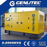 Diesel 125kVA van Weifang Ricardo 100kw van het Type van Denyo Stille Generator