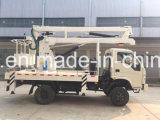 販売のためのIsuzu 4*2の高い空気のプラットホームの働くトラック