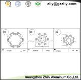 Dissipatore di calore di alluminio di passivo LED per il riflettore e Downlight
