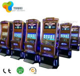 Prix incurvé de machine à sous de casino de jeu d'écran à vendre