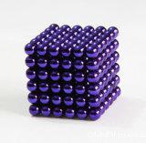 Esferas coloridas neo do ímã do ímã neo das esferas do cubo 5mm