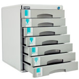 자물쇠 C9978를 가진 금속 7 서랍 사무실 표준 파일 저장 장소 내각