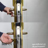 Red de acero inoxidable en línea de bloqueo de la puerta del hotel inalámbrico cerradura electrónica de control para el control de acceso