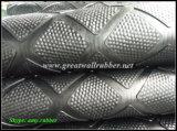 Gw4006 Diamond with Hammer Top Cow Mat, esteira de borracha para gado