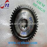 O processo de usinagem CNC engrenagem helicoidal de Aço