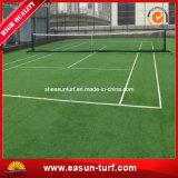 Grama artificial chinesa da corte de tênis da alta qualidade