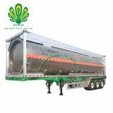 Alliage d'aluminium de l'utilitaire d'huile de carburant diesel pétrolier de transport de conteneurs de stockage de remorque de camion