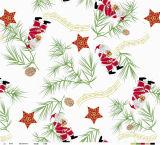 Mantel de la Navidad del nuevo diseño/cubierta de vector impresos PVC cuadrados suaves con el forro