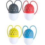 El locutor de moda de Bluetooth del aire libre de 4 colores con el LED ligero impermeabiliza