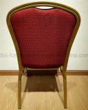 فندق أثاث لازم قابل للتراكم مأدبة [هلّ] عرس فولاذ بناء مأدبة كرسي تثبيت