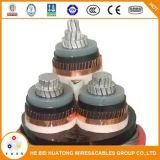 Cavo elettrico del cavo Cu/XLPE/Swa/PVC di Americal UL1072 sistemi MV