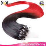 Micro Ring Hair Keratin Tip Hair Autres couleurs Extension de cheveux