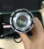 Van het aluminium van de Verlichting van de Flitslichten de Navulbare 4000lm T6 LEIDENE CREE Xml van Zoomable Tactische Toorts van het Flitslicht