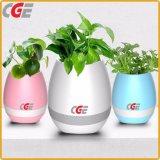 Chanter, Plantpot intelligente de la magie de la musique haut-parleur Bluetooth Flower Pot à l'intérieur des pots de plantes à LED pour une véritable usine à la décoration, de bureau