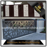 Comitato di alluminio della rete fissa del giardino del metallo del taglio del laser per la decorazione