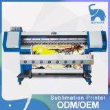 Impresora de sublimación de 1,8 m de ancho con dos cabezales de impresión de formato DX5