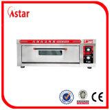 Four de pizza de gaz pour l'usine de machine d'appareils de matériel de nourriture de cafétéria de système de café de pizza en Chine