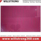 Puder-Drucken-Aluminiumfurnier-blatt für Fassade
