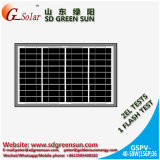 el panel solar polivinílico 40W-50W para la luz solar del LED
