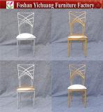 현대 공상 금속 프레임 편리한 방석 결혼식 의자 Yc-As48