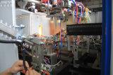 La pequeña máquina de moldeo por soplado de botellas de PET para el cliente EE.UU.