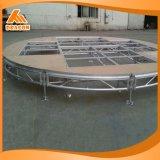 Concierto de aluminio de alta calidad etapa plegable