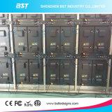 Eisen-/Aluminiumim freienbekanntmachen LED-Bildschirm Bst-P6 SMD3535