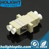 LC aan LC de Optische Adapter van de Vezel met het Type van Flens