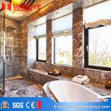Finestra di vetro bassa della stoffa per tendine della lega di alluminio di E per la decorazione domestica