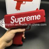 2017 últimos juguetes del arma del dinero del cañón del efectivo de la manera del precio de fábrica