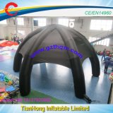 Extérieur noir géant Tentes Tentes gonflables/pour l'événement