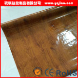 Burgundy 내각 PVC 필름 진공 막 압박 높은 광택 PVC 엄밀한 필름