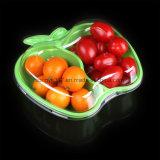 음식 급료 신선한 채소 & 과일을%s 다색 플라스틱 음식 콘테이너
