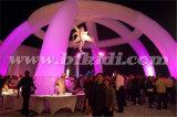 La cerimonia nuziale gonfiabile bianca esterna incurva la tenda K5118 della cupola