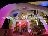 Открытый белый надувной свадебной арки купол палатка K5118