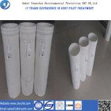Calandrado y bolsa de filtro de aire de bolsa de filtro de polvo de poliéster