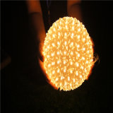 Ball Flower LED String Light para Decoração de Natal Outdoor Decoration