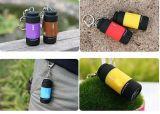 Bewegliche LEDmini-USB-Taschenlampe mit Keychain