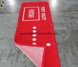 Ткань полиэфира полного цвета напечатанная знаменем (SS-SF102)