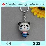 Items decorativos de Keychain de los regalos de la característica de la mini resina china promocional de la panda